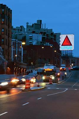Photograph - Citgo Sign In Kenmore Square - Boston by Joann Vitali
