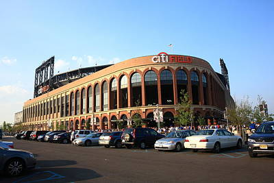 Photograph - Citi Field - New York Mets 13 by Frank Romeo