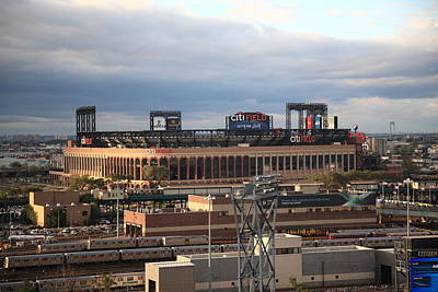 Photograph - Citi Field - New York Mets 6 by Frank Romeo