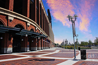Citi Field Stadium Side View Art Print by Nishanth Gopinathan