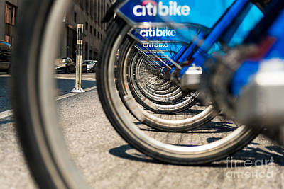 Photograph - Citibike Manhattan by Alissa Beth Photography