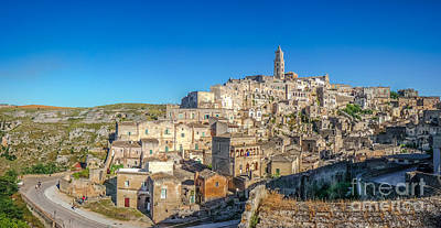 Basilicata Photograph - Cities Of The South by JR Photography