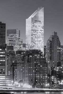 New York City Skyline Photograph - Citigroup Building At Twilight II by Clarence Holmes