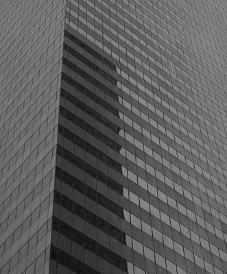 Citigroup Facade I Print by Clarence Holmes