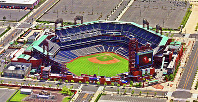 Philadelphia Phillies Stadium Photograph - Citizens Bank Park Phillies by Duncan Pearson
