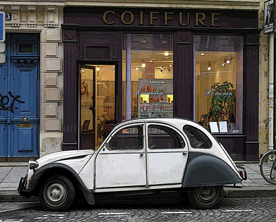 Photograph - Citroen 2cv by Jim Mathis