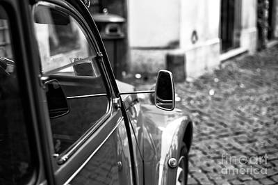 Photograph - Citroen Mirror by John Rizzuto