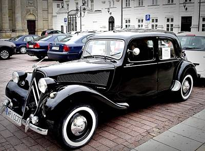Photograph - Citroen Traction-avant by Dora Hathazi Mendes