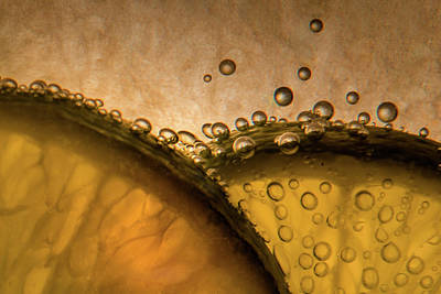 Photograph - Citrus Abstract by James Woody