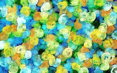 Digital Art - Citrus Explosion by Honey Brown