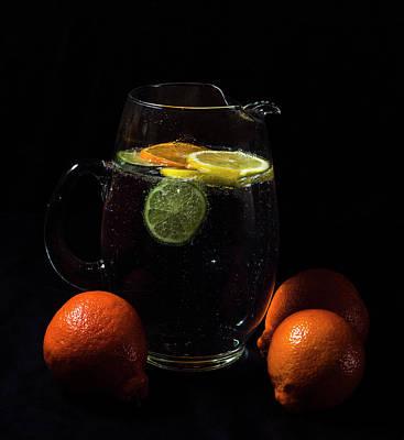 Photograph - Citrus Pitcher by Laura Pratt