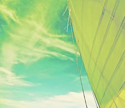 Photograph - Citrus Sail Special Edition by Tony Grider