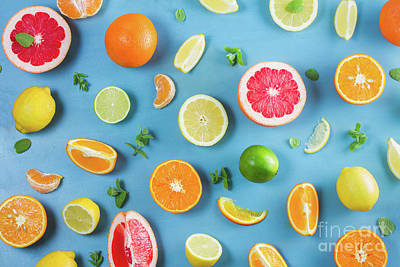 Photograph - Citrus Summer by Anastasy Yarmolovich