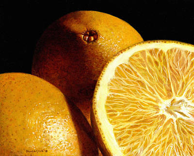 Painting - Citrus Sunshine by Shana Rowe Jackson
