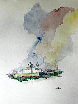 Painting - Citta' Vecchia by Ray Agius