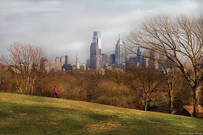 Loner Photograph - City - Philadelphia Pa  - The City Of Philadelphia  by Mike Savad
