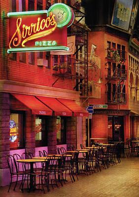 City - Vegas - The Pizza Joint Art Print