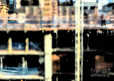 Photograph - City Abstract 1 by Denise Cottin