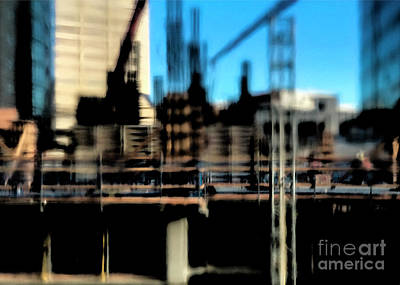 Photograph - City Abstract 2 by Denise Cottin
