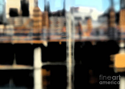 Photograph - City Abstract 4 by Denise Cottin