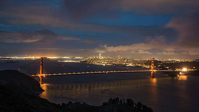 Photograph - City And The Bridge by Stephen Holst