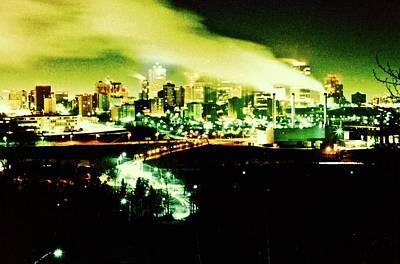 Photograph - City At Minus 30 Degrees by Brian Sereda