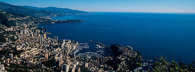 Monaco Photograph - City At The Waterfront, Monte Carlo by Panoramic Images
