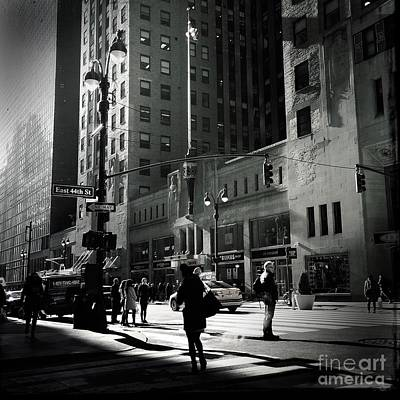 Photograph - City Beat - New York by Miriam Danar