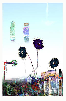 City Blooms Art Print by Andy  Mercer