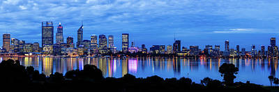 Photograph - City Blues, South Perth, Perth by Dave Catley