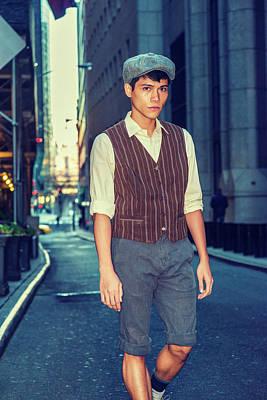 Photograph - City Boy by Alexander Image