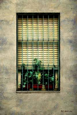 Painting - City Cell by RC deWinter