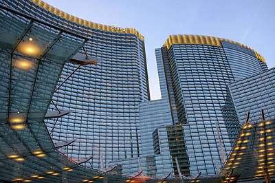 Photograph - City Center Las Vegas by Glenn DiPaola