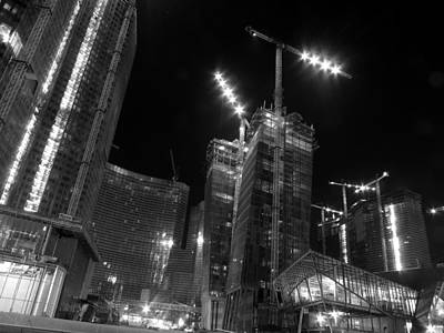 Photograph - City Center Rising by David Bearden