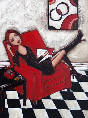 Painting - City Chic by Denise Daffara