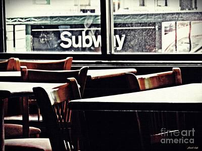 Photograph - City Diner by Sarah Loft