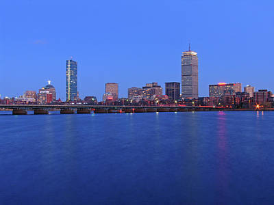 Charles River Photograph - City Dreams by Juergen Roth