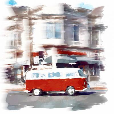 Old Town Digital Art - City Drive by Yury Malkov