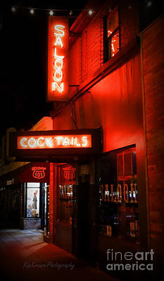 Photograph - City - Encinitas - Saloon Cocktails by Kip Krause