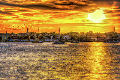 Photograph - City Evening by Joedes Photography