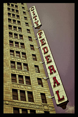 Photograph - City Federal Poster by Just Birmingham