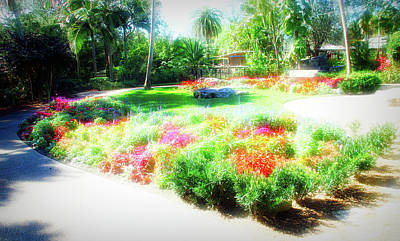 Photograph - City Flare Garden Park by Aimee L Maher Photography and Art Visit ALMGallerydotcom