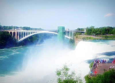Photograph - City Flare Niagara Falls 11 by Aimee L Maher Photography and Art Visit ALMGallerydotcom