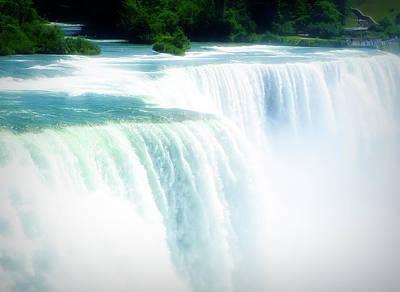 Photograph - City Flare Niagara Falls 2 by Aimee L Maher Photography and Art Visit ALMGallerydotcom