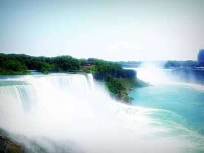 Photograph - City Flare Niagara Falls 4 by Aimee L Maher Photography and Art Visit ALMGallerydotcom