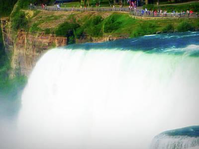 Photograph - City Flare Niagara Falls 5 by Aimee L Maher Photography and Art Visit ALMGallerydotcom