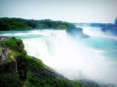 Photograph - City Flare Niagara Falls by Aimee L Maher Photography and Art Visit ALMGallerydotcom