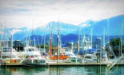 Photograph - City Flare Seward Alaska 2 by Aimee L Maher ALM GALLERY