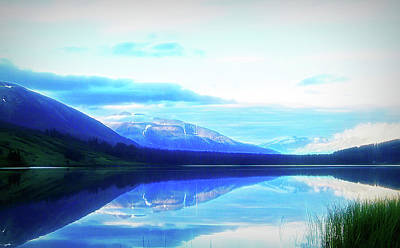 Photograph - City Flare Summit Lake Alaska by Aimee L Maher Photography and Art Visit ALMGallerydotcom
