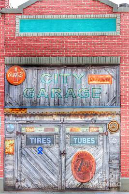Photograph - City Garage by Toma Caul